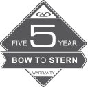 Bow-to-Stern Warranty badge